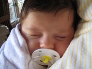 how to break habit of baby sleeping with white noise