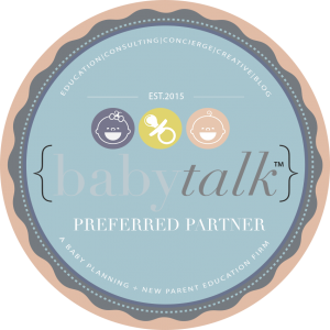 Babytalk Partner Badge